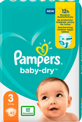 Pampers Baby Dry Taille 3