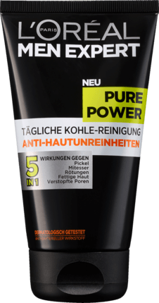 L'Oréal men expert Pure Power Gel Nettoyant